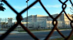 The exterior of the Nassau County Correctional Center