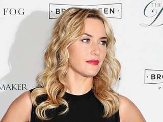 Actress Kate Winslet told an audience that she