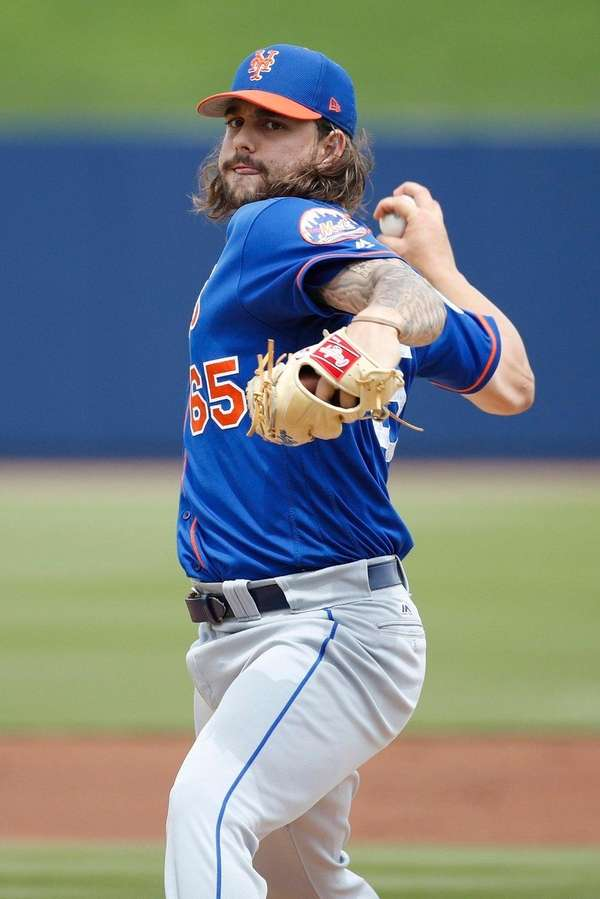 Robert Gsellman pitched well on Thursday, allowing only