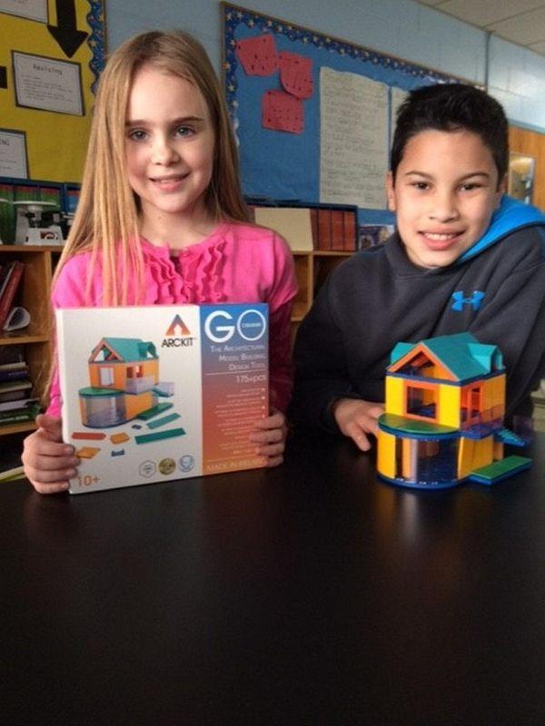 Kidsday reporters Anna Goodman and Dante Salgado with
