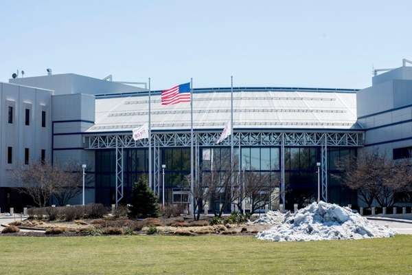 Altice USA's Bethpage headquarters, seen here March 23,