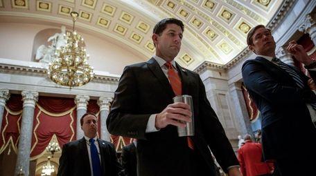 House Speaker Paul Ryan (R-Wis.) is seen Thursday,