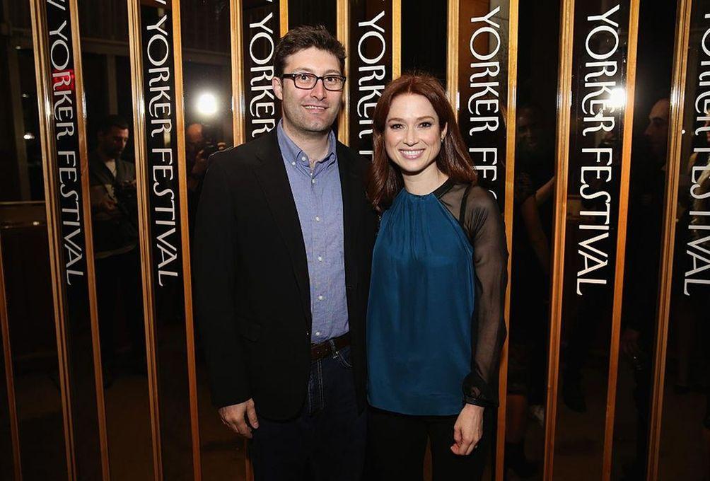 Parents: Ellie Kemper and Michael Koman Child: James
