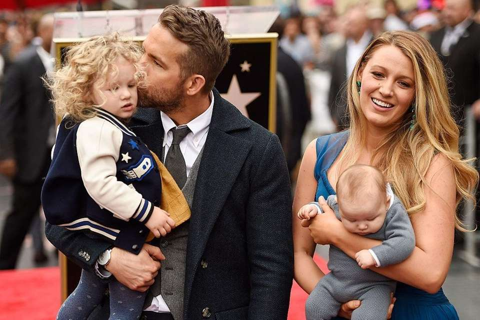 Blake Lively and Ryan Reynolds have two children