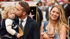 Blake Lively and Ryan Reynolds have two girls