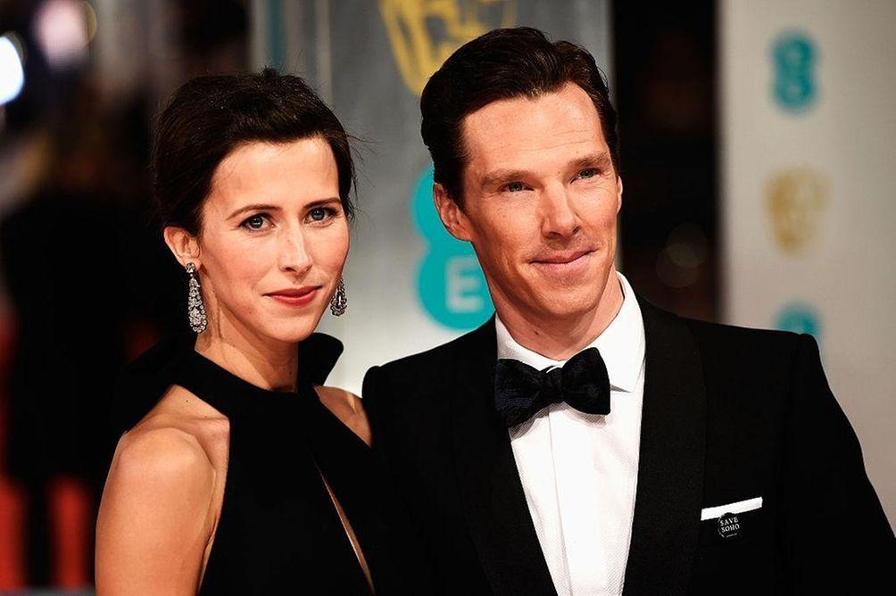 Parents: Benedict Cumberbatch and Sophie Hunter Child: Christopher