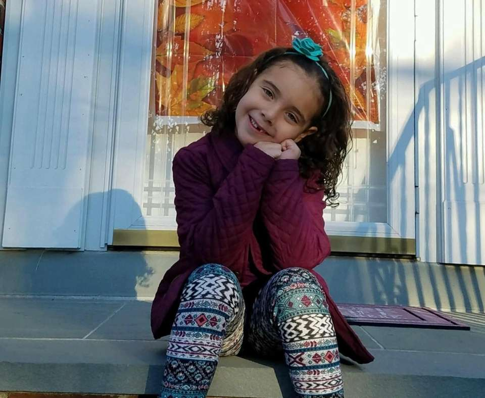 My princess enjoying the warm weather!