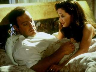 Kevin James and Leah Remini, seen here in