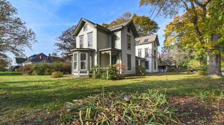 The circa 1900 farmhouse in Orient is listed