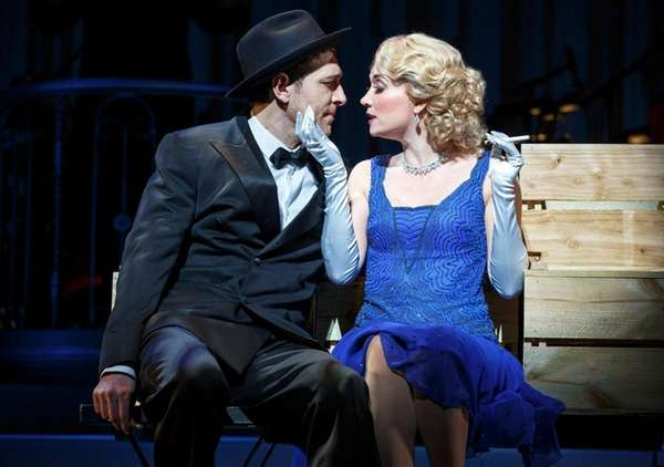 Tam Mutu and Scarlett Strallen in Cole Porter's