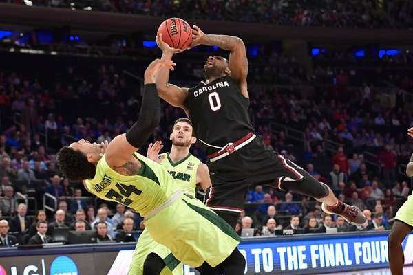South Carolina's Sindarius Thornwell is low profile, high production