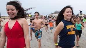 The Town of Oyster Bay Polar Bear Plunge