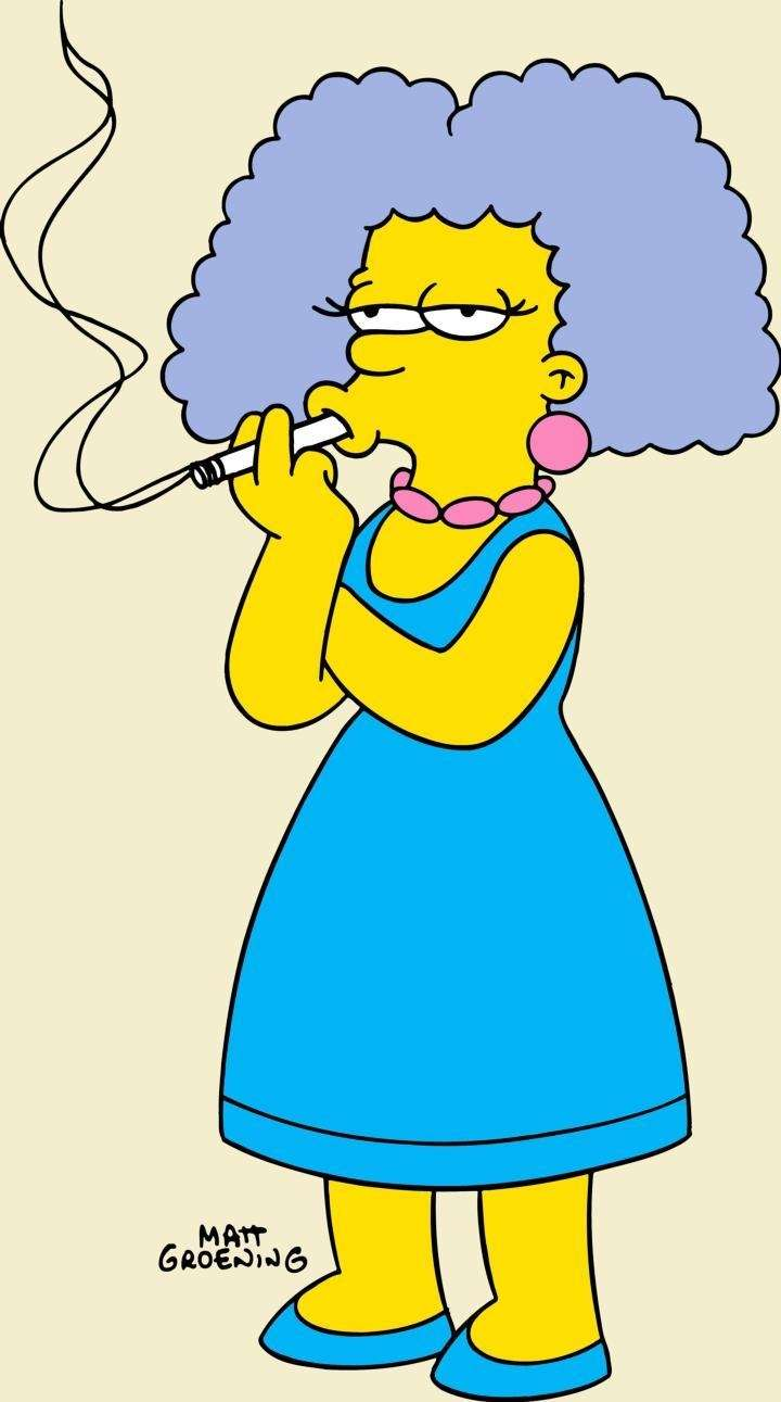 Selma Bouvier on The Simpsons