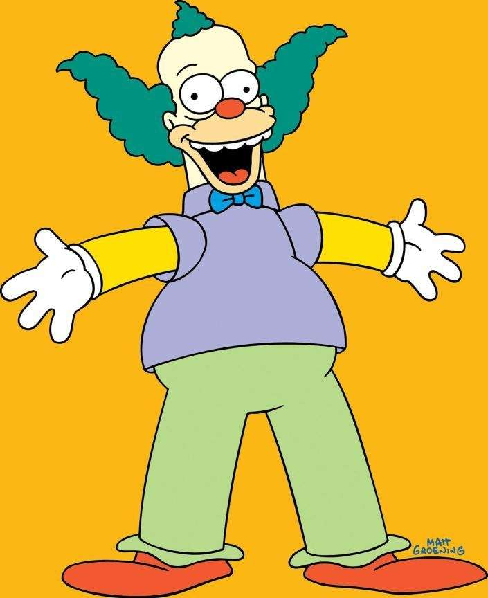 Krusty the Clown from