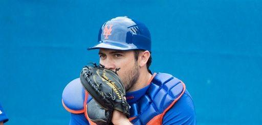 Mets catcher Travis d'Arnaud, here in a camp