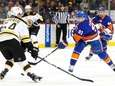 John Tavares, #91, of the New York Islanders