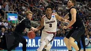 Gonzaga's Johnathan Williams, who had 19 points,