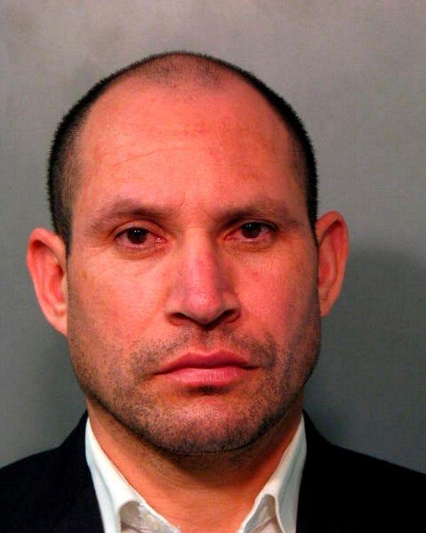 Fredys Santamaria, 39, of Westbury, was arrested Saturday,