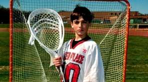 Nico Signore, 14, was killed Feb. 24, 2017,