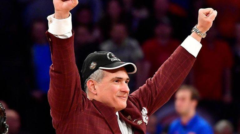 South Carolina coach Frank Martin can exult in