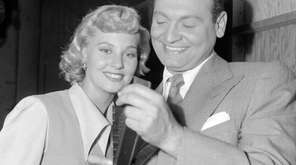 Albright and Frankie Laine starred in the 1950