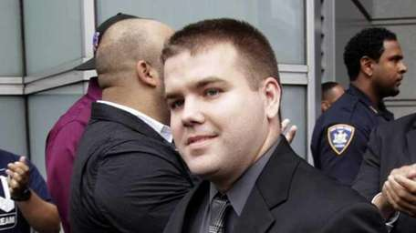 NYPD Officer Richard Haste, pictured in June 2012,