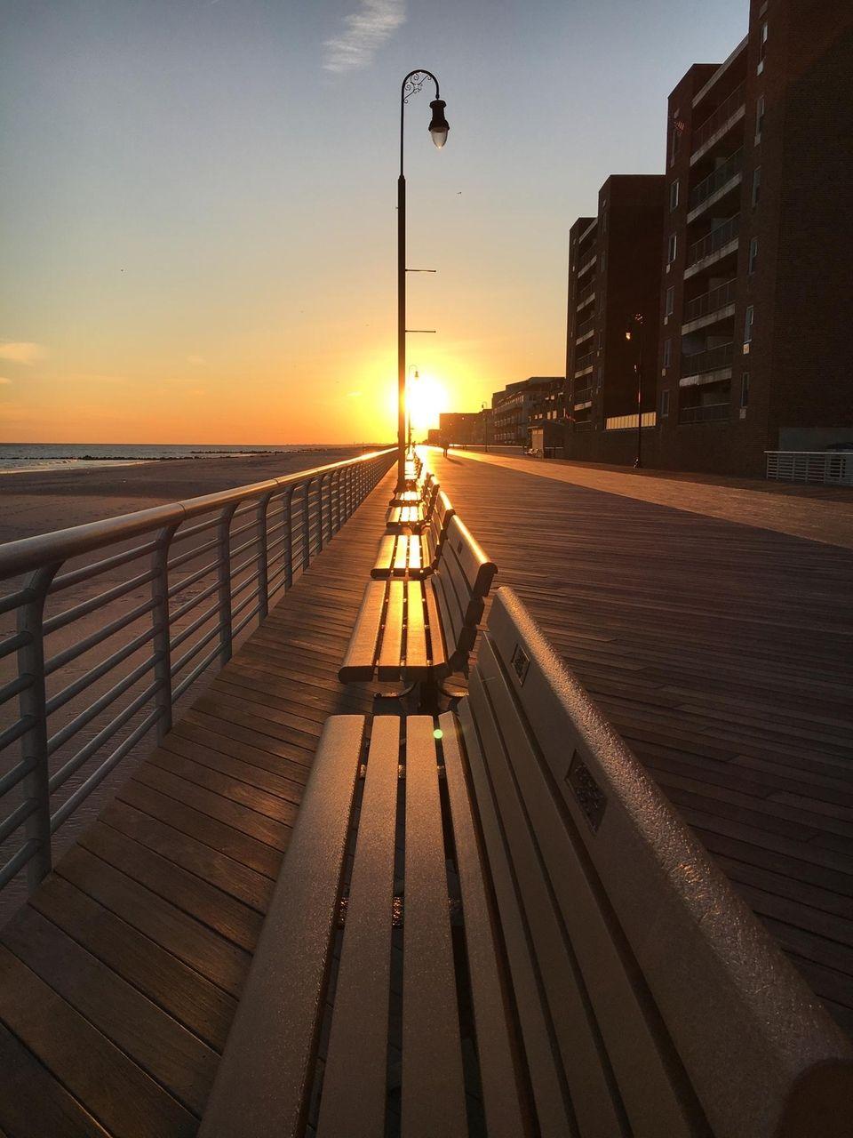 Walking on sunshine, Long Beach NY