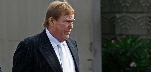 Oakland Raiders owner Mark Davis arrives for a