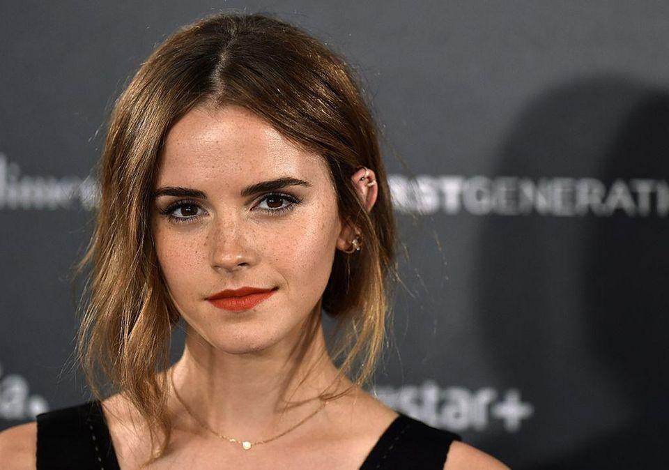 Emma Watson, who is a Global Goodwill Ambassador