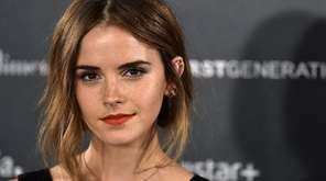Emma Watson, who is a Global Goodwill Ambassador