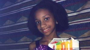 Kidsday reporter Kiara Poelinitz with her Gift 'ems.