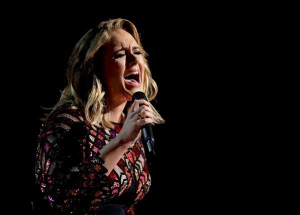 Adele says her current tour,