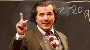 John Leguizamo as a nonstop, professorial monologuist in