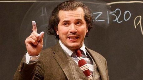 John Leguizamo as a nonstop, professorial monologuist in