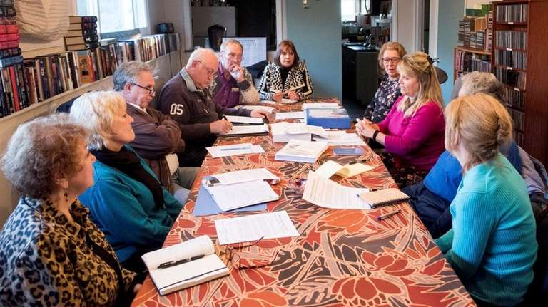 The Oakdale Historical Society met on March 21,