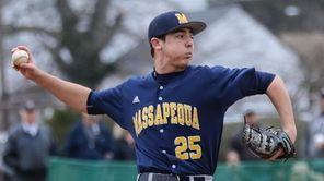 Massapequa's Daniel Gdanski took a no hitter into