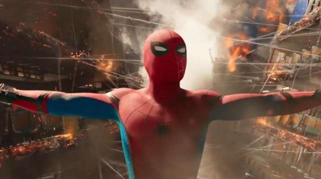 "Tom Holland stars in this trailer for ""Spider-Man:"