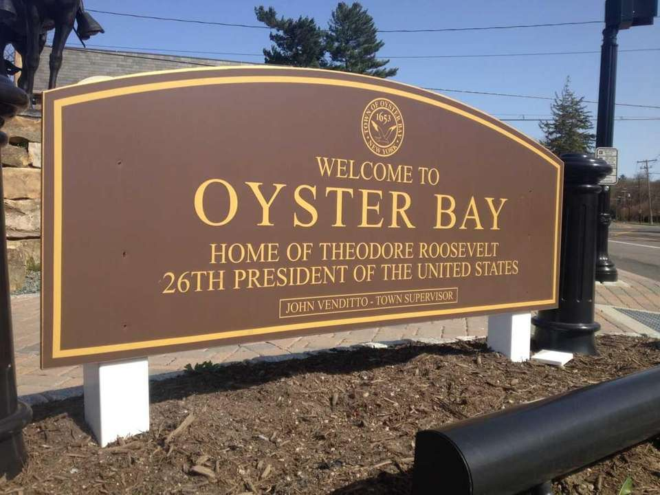 According to the Town of Oyster Bay website,