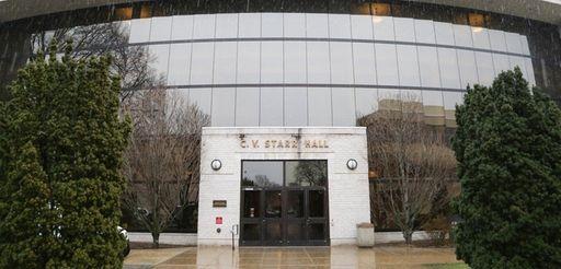 C.V. Starr Hall at Hofstra University, seen Tuesday,