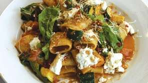 North Fork paccheri is one of the pasta