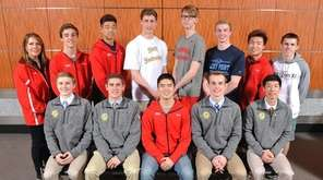 The 2017 Newsday All-Long Island boys swimming team