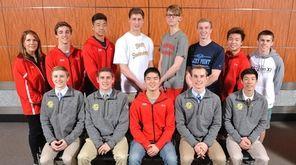 The 2017 Newsday All-Long Island boys swimming team