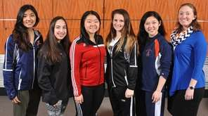 The 2017 Newsday All-Long Island girls fencing team