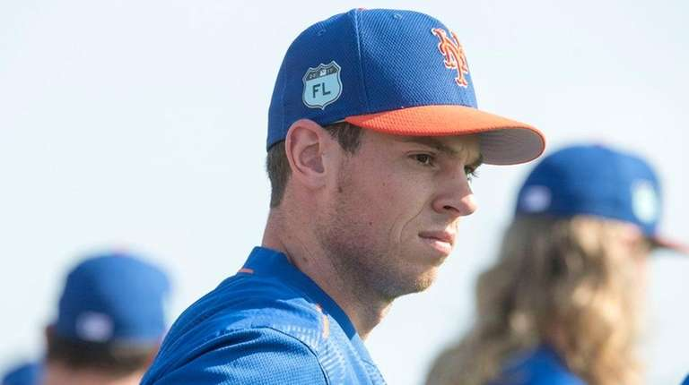 Steven Matz is trying to get ready for