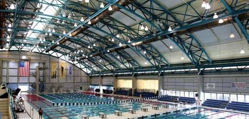 The Nassau County Aquatic Center in Eisenhower Park