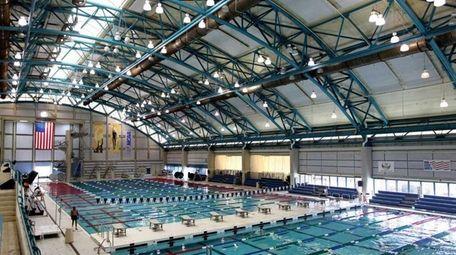 The Nassau County Aquatic Center in Eisenhower Park