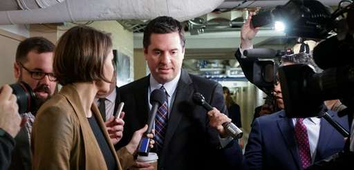 House Intelligence Committee Chairman Rep. Devin Nunes, R-Calif.