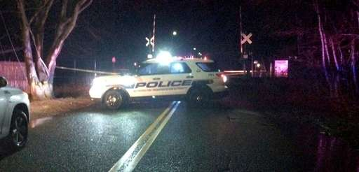 A man was killed after being struck by