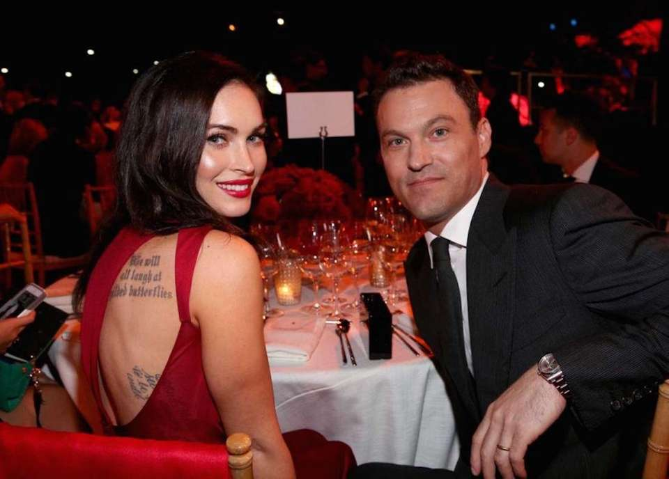 Brian Austin Green was targeted by the Bling