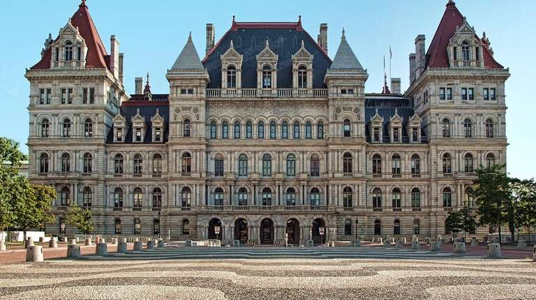 The New York Capitol in Albany on Sept.